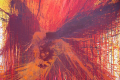 """Aus der Serie """"Auferstehung"""" 145 x 160 cm, Acryl auf Leinen"""