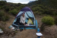 Caren Dinges 2014 auf Coromandl, Neuseeland