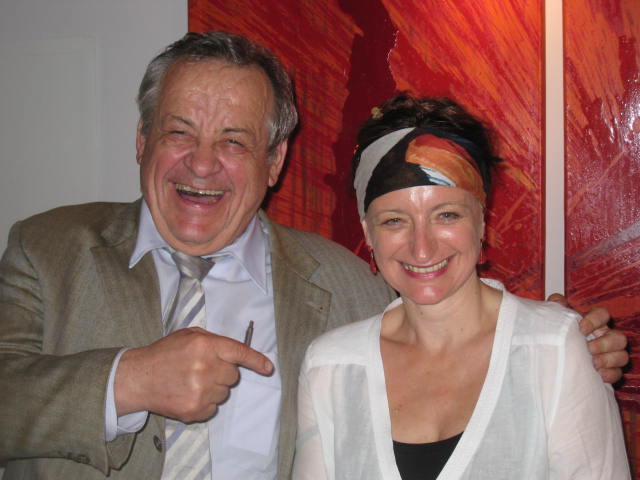 Caren Dinges und Alfred Zoubek