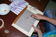 Atelier Caren Dinges -Druckwerkstatt Linolschnitt