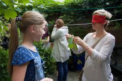 Atelier Caren Dinges-Abschluss Präsentation und Test der Eltern