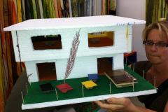 Atelier Caren Dinges-Bauen mit Styropor