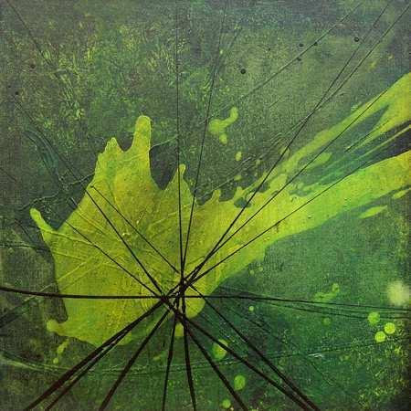 """Aus der Serie """"Kontemplation"""" 40 x 40 cm, Acryl auf Leinen"""