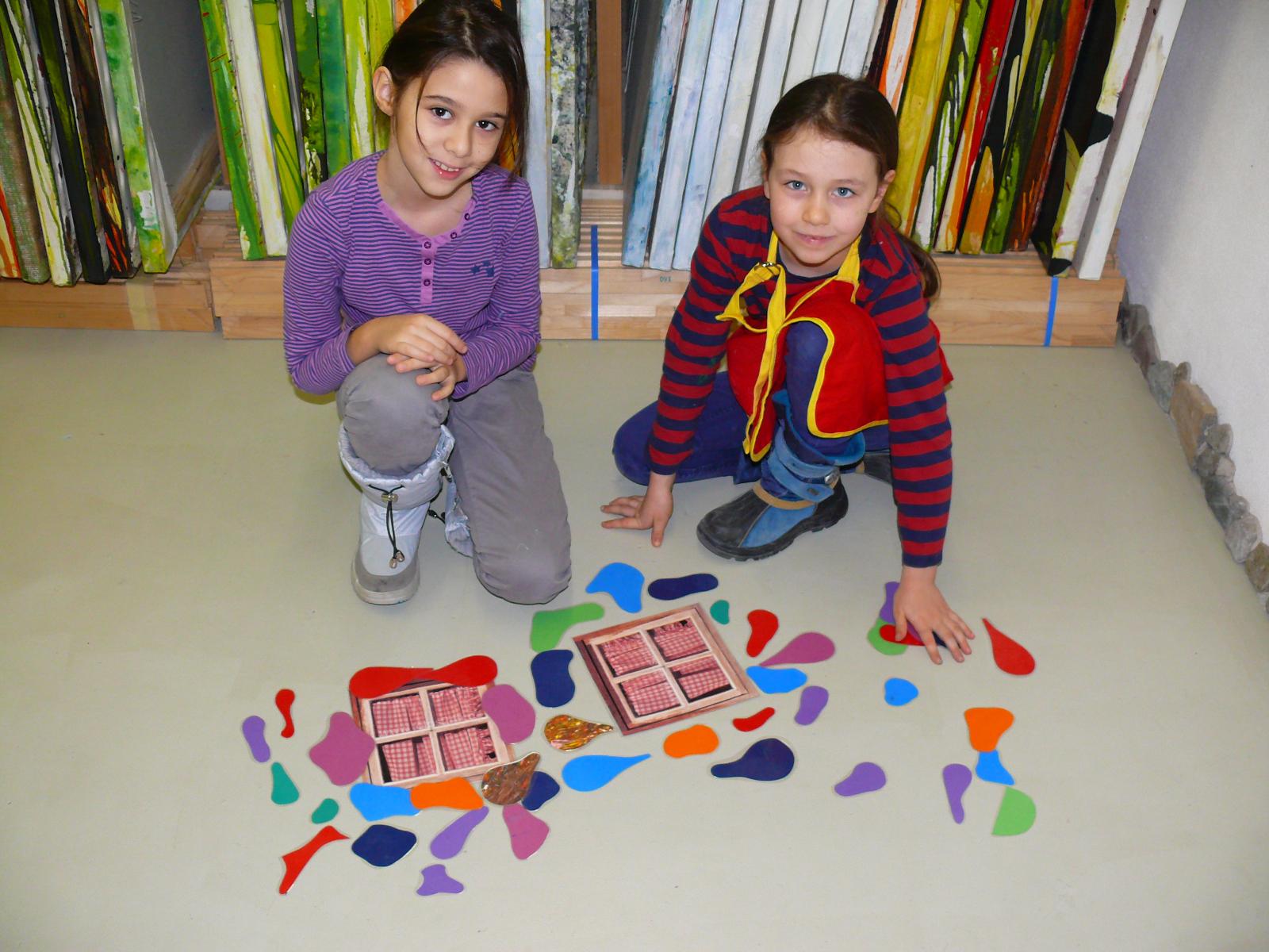 Hunderwasser Workshop Volksschule - Fensterrecht