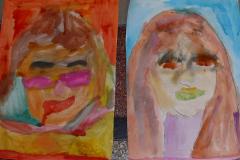Portraitmalen Volksschule