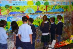 Malen im Grossformat Volksschule