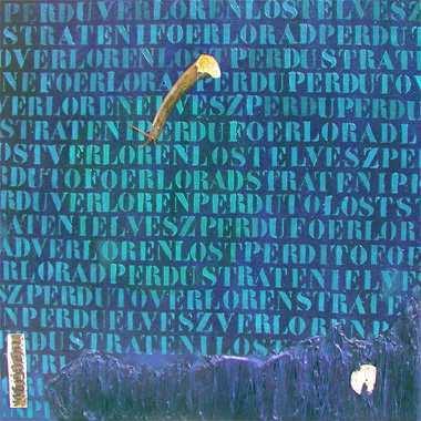 """""""Lost"""", 115 x 115 cm,  Acryl  auf Leinen"""
